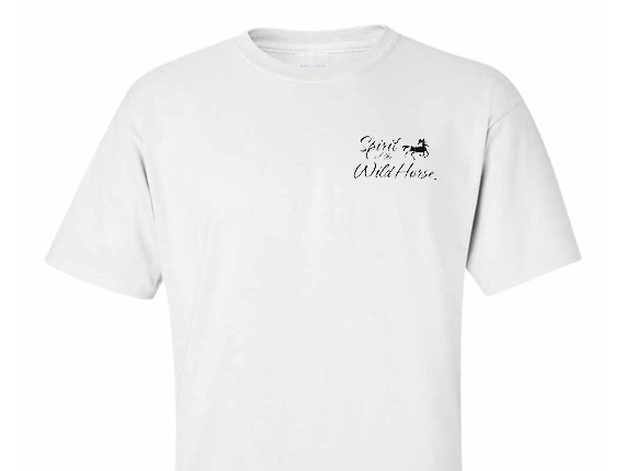 Spirit of the Wild Horse TShirt Front View